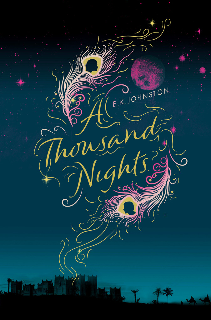 Paperback of A Thousand Nights by E. K. Johnston