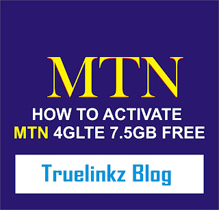 How to activate mtn 4glte 7.5gb free settings