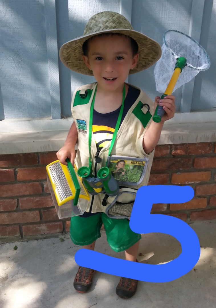 Heart Cries: Tyrus is Five!