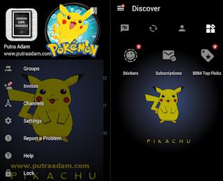BBM MOD Pikachu V3.0.0.18 Apk