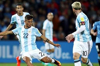 مشاهدة مباراة الأرجنتين وأوروجواي
