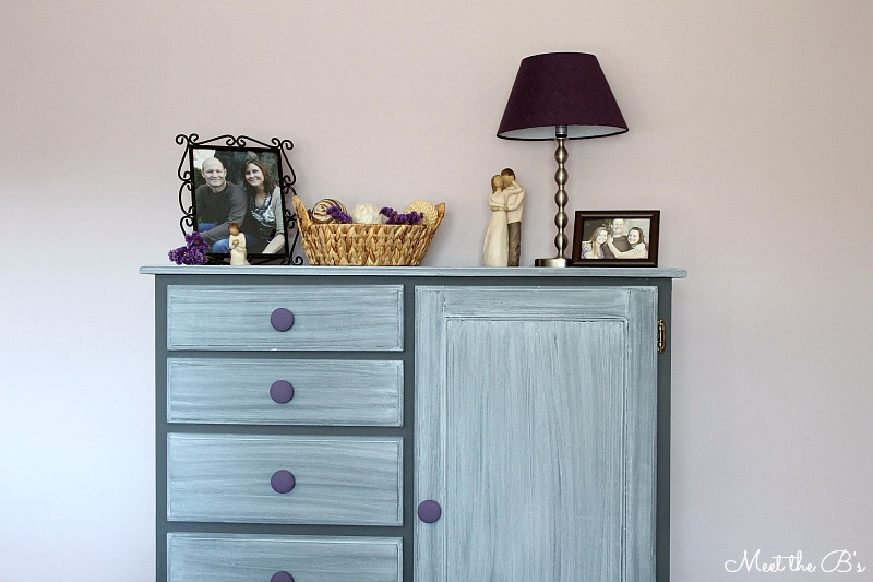 fascinating Purple Chalk Paint Furniture Part - 14: Dresser Makeover- How to grey wash a dresser with chalk paint!