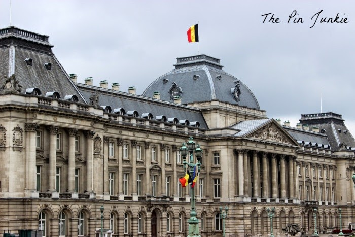 Royal Palace Brussels Belgium