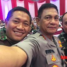 Suasana Rapim TNI Polri,  Kapolda Sulsel, Pangdam XIV Hasanuddin dan Pangkoops AU II Sangat Kompak dan Solid