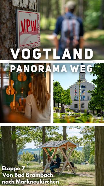 Vogtland Panorama Weg  Etappe 7 von Bad Brambach nach Markneukirchen  Wandern in Sachsen 17