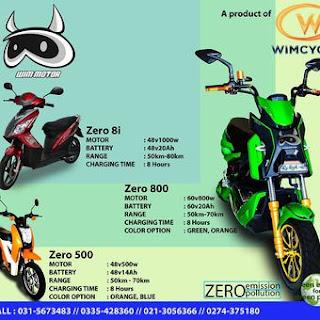 produk-produk motor listrik buatan wim motor