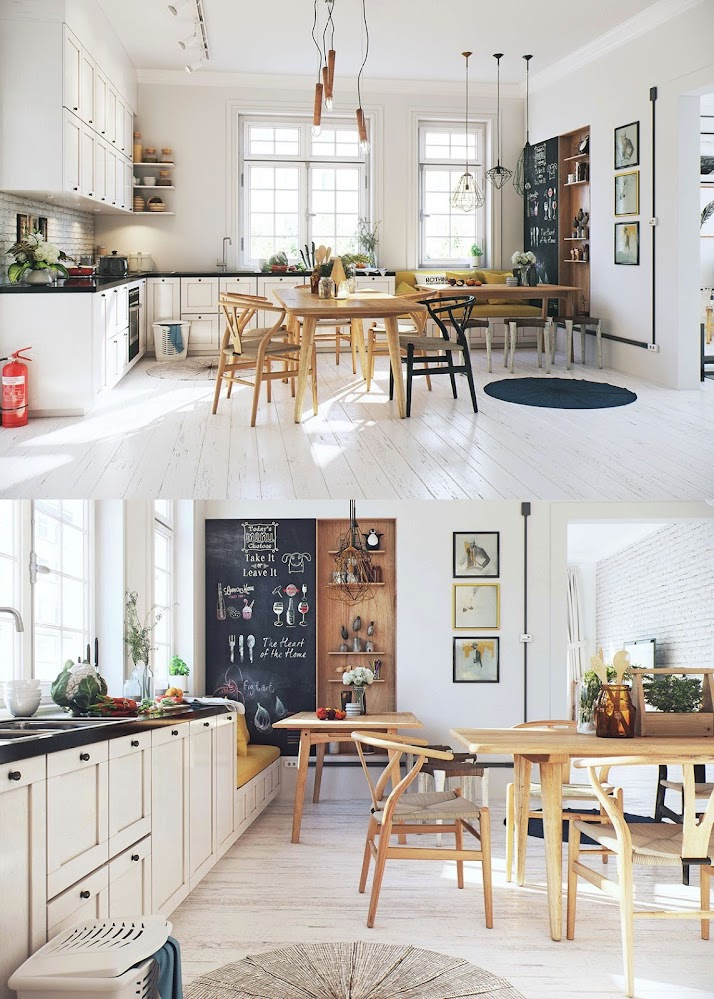 rustic-scandinavian-dining-room