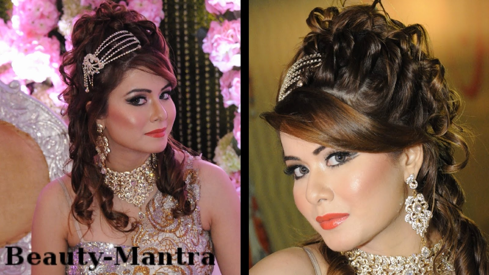 wedding hair and makeup styles amazing modern bridal makeup and awesome hairstyle 6909
