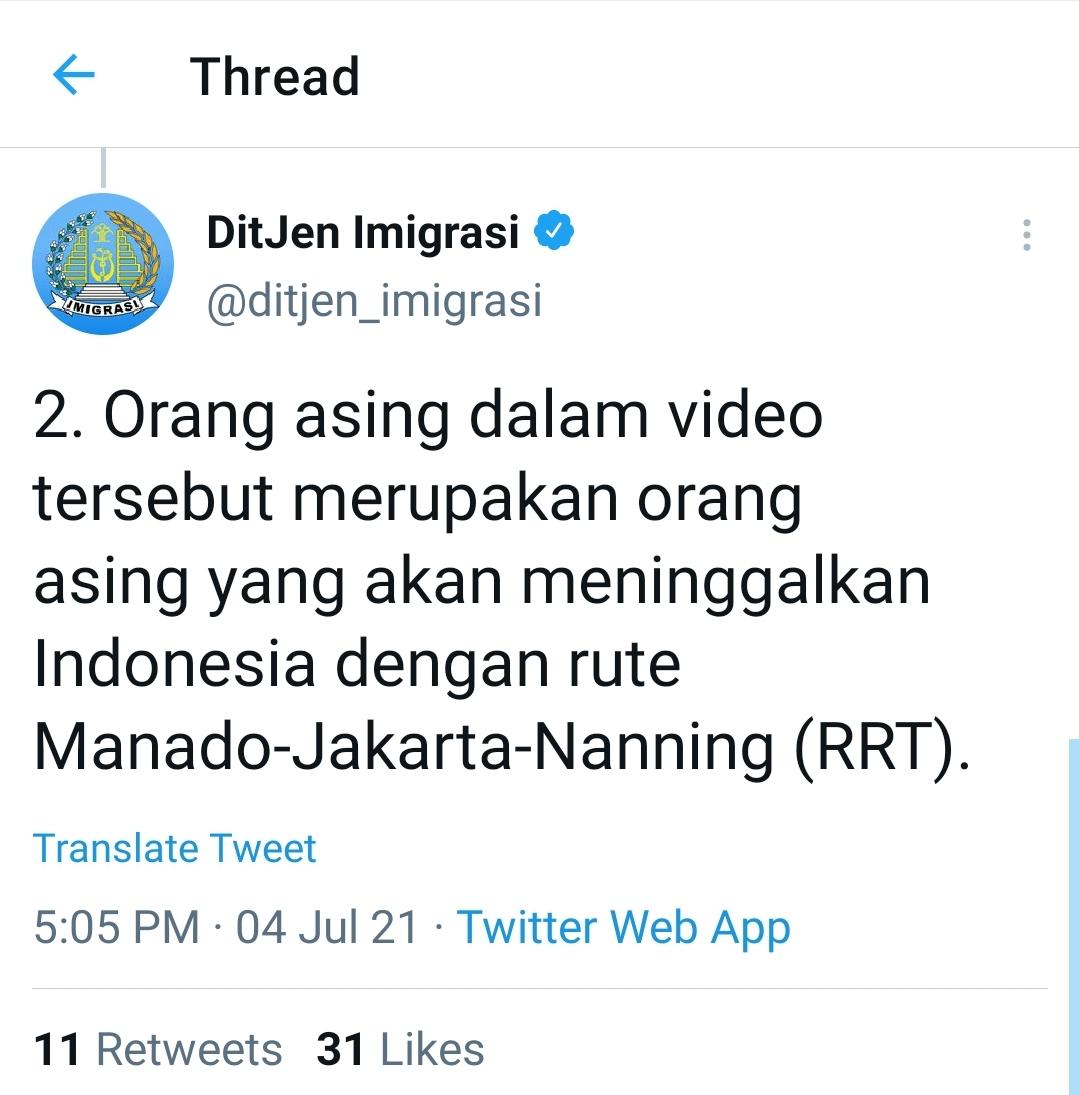 Lima Poin Sanggahan Ditjen Imigrasi Soal TKA Masuk Indonesia Saat PPKM