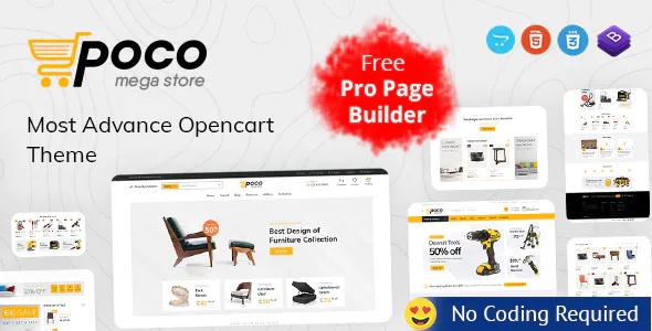 Best Advanced OpenCart Theme