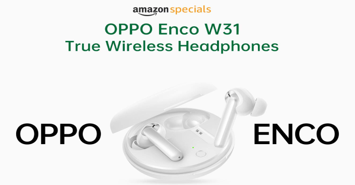 Oppo Enco W31 Set to Go On Sale Via Amazon India on May 15