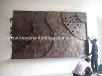 Hiasan Dinding Tembaga | Spesialis Hiasan Dinding Ornamen Tembaga Kuningan