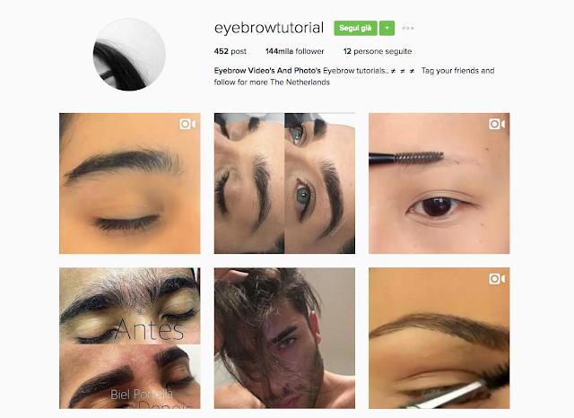 Cherry Diamond Lips Eye Brow Tutorial Instagram account