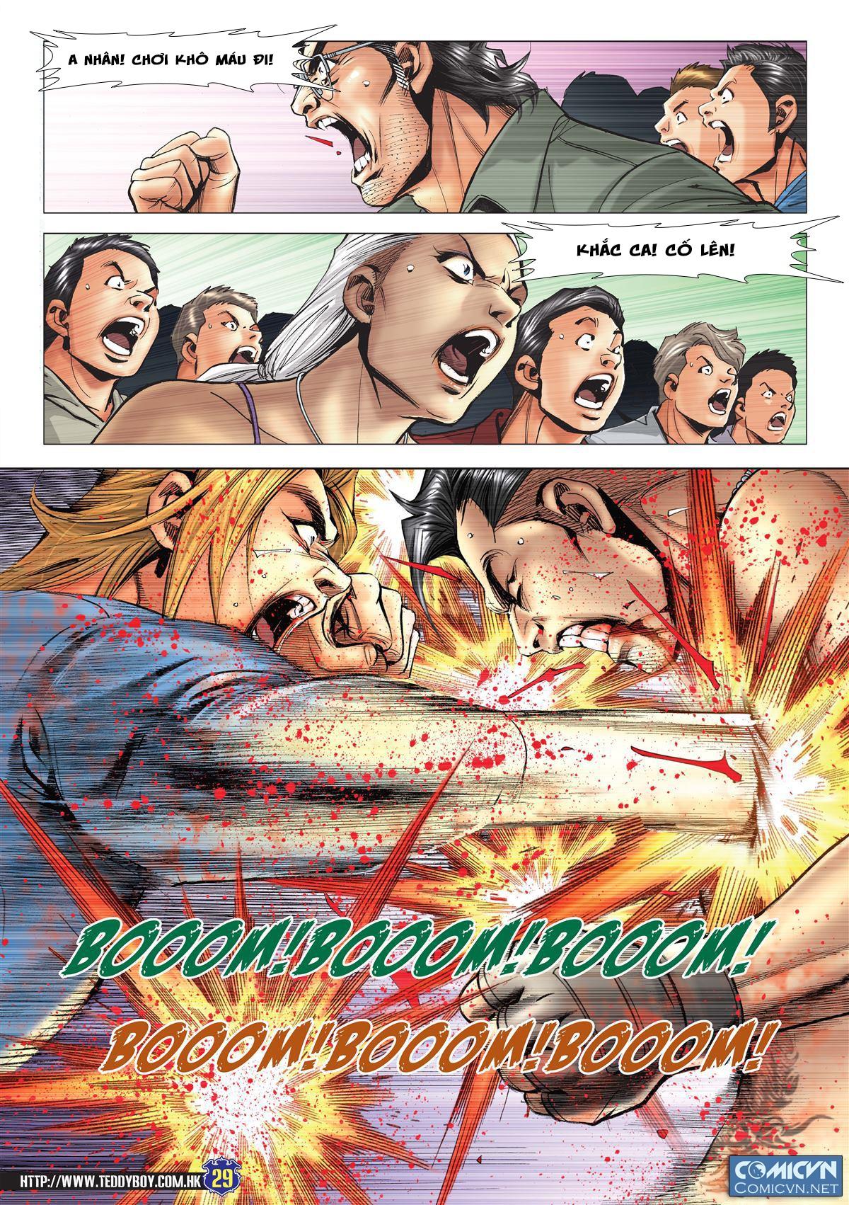 Người Trong Giang Hồ chapter 2138: thắng hết khí thế thua vì đen trang 24
