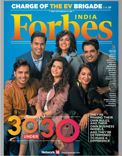 Forbes India : 30 Under 30
