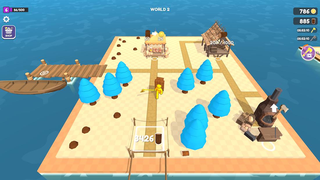 Craft Island Hileli Apk - Para Hileli Apk
