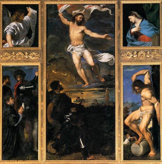 Políptico de Ticiano em Bréscia: viver a Ressurreição
