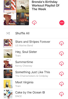 iTunes Workout Playlist
