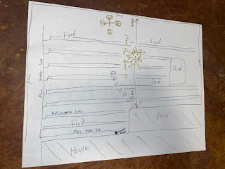 Rough Map with Irrigation