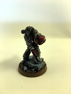 30k Burning of Prospero - Mark III Space Wolf Tactical Marine - back