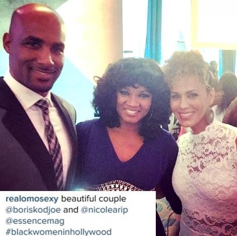 Actress Omotola Jalade Meets Oprah Winfrey, Boris Kidjoe & More in Hollywood Awards (Photos)