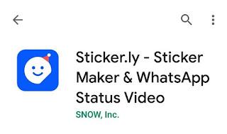 Sticker.ly aplikasi membuat stiker whatsapp