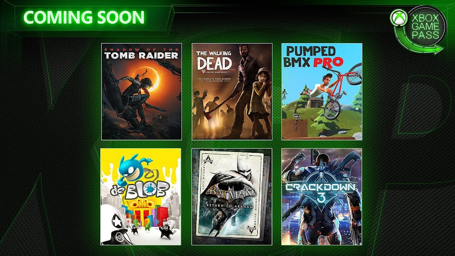 xbox game pass telltale walking dead xb1 2019
