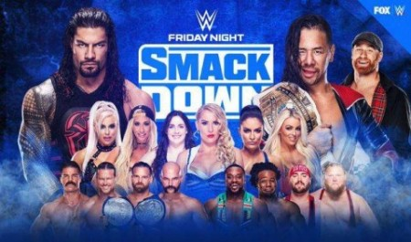 WWE Friday Night SmackDown 15 May 2020 Full Show 480p HDTV x264 350MB
