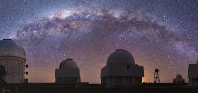 Cerro Tololo Observatory, Chile.