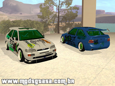 Ford Escort RS 92 Hella para GTA San Andreas
