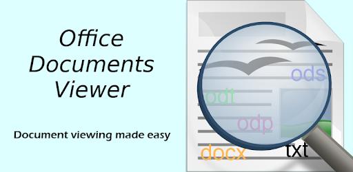 تحميل تطبيق Office Documents Viewer Pro v1.28 (مدفوعة) APK