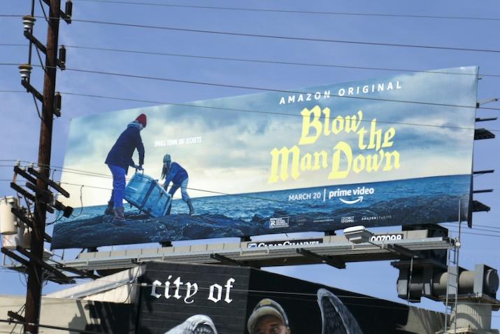 Blow the Man Down film billboard