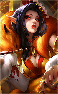 Aurora Foxy Lady Heroes Mage of Skins V2