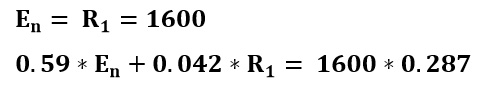 Balance de masa para calcular las cantidades de extracto y refinado del ejemplo 3