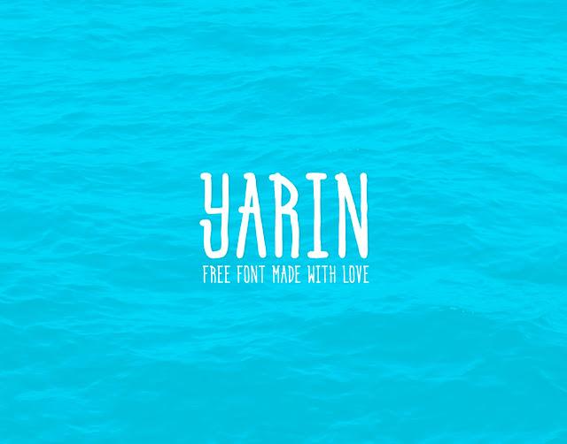 Шрифт Yarin (кириллица, латиница)