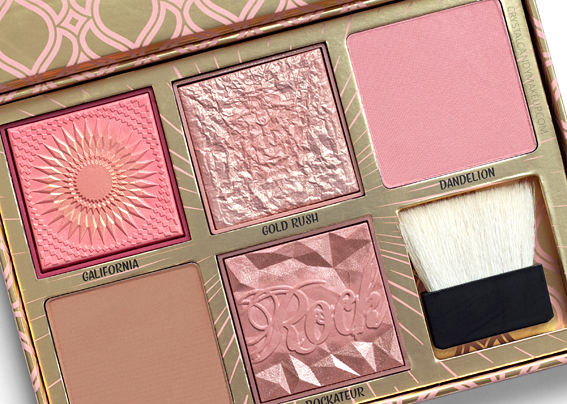 Benefit Blush Bar Bronzer Palette Review Gold Rush