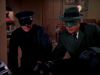 Van Williams and Bruce Lee - the Green Hornet 1966