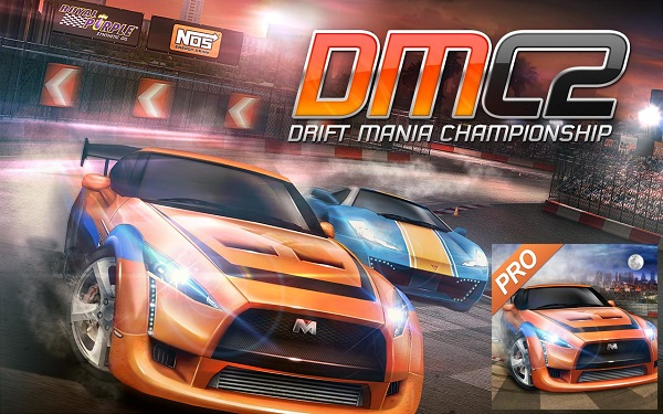 Drift Mania Championship 2 PRO V1.34 Mod + Data for andorid