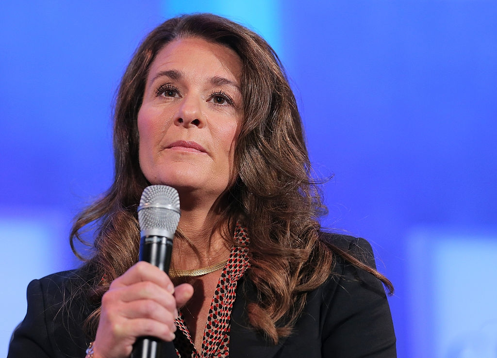 Co-chair of the Bill and Melinda Gates Foundation Melinda Gates speaks during the fourth day of the Clinton Global Initiative's 10th Annual Meeting at the Sheraton New York Hotel & Towers on September 24, 2014 in New York City. (Photo by Jemal Countess/Getty Images)