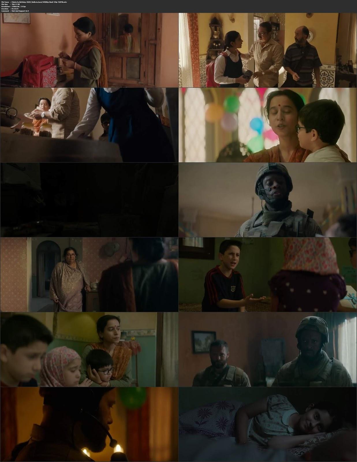 Chintu Ka Birthday 2020 WEBRip 280Mb Hindi Movie Download 480p