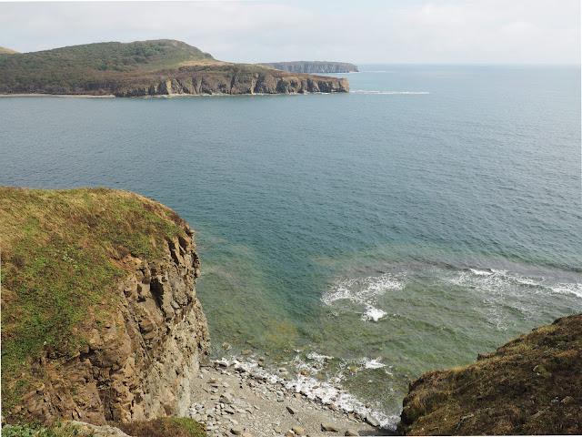 Владивосток, остров Русский, мыс Тобизина – вид на море