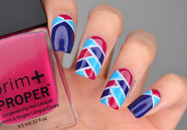 Fishtail Braid Nail Art