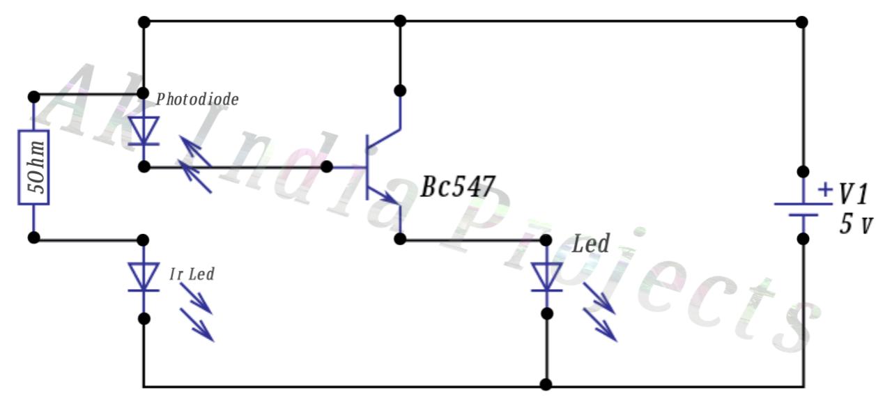 Make A Simple Proximity Sensor At Home      Using Transistor