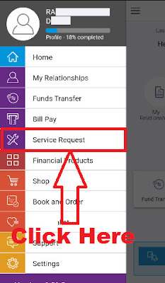sbi yono request new atmdebit card