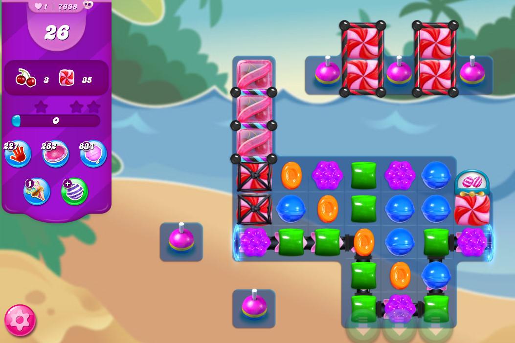 Candy Crush Saga level 7638