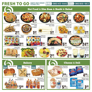 Oceans Fresh Food Market Brampton Flyer March 31 to April 6, 2017
