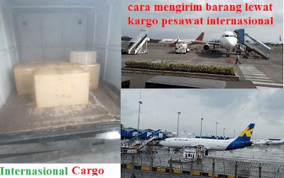 Cara Mudah Mengirim Barang Lewat Kargo Pesawat Internasional