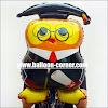 Balon Foil Graduation Owl
