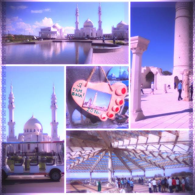 поездка в болгар, путь к белой мечети