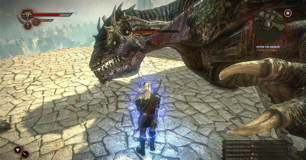 Thinking 1440 The Witcher 2 Dragon Boss Fight Chapter